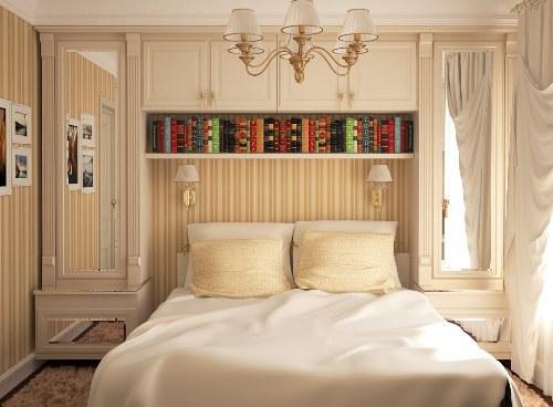 Зеркала в маленькой спальни