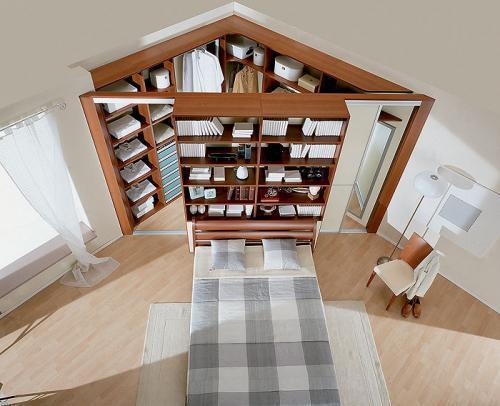 Дизайн углового шкафа для спальни