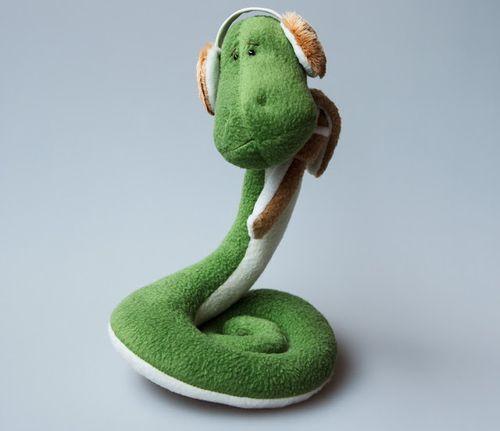 Новогодняя змея - игрушка