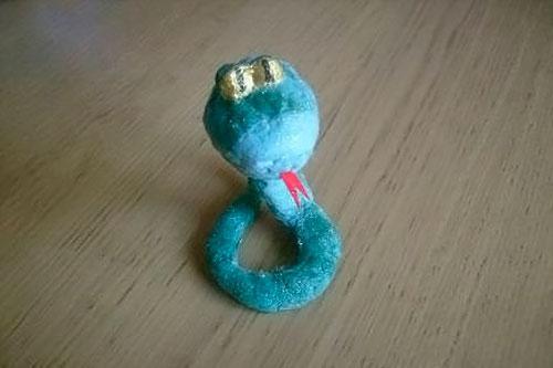 Игрушка новогодняя змея своими руками