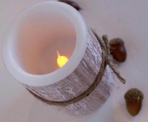 Украшение свечи