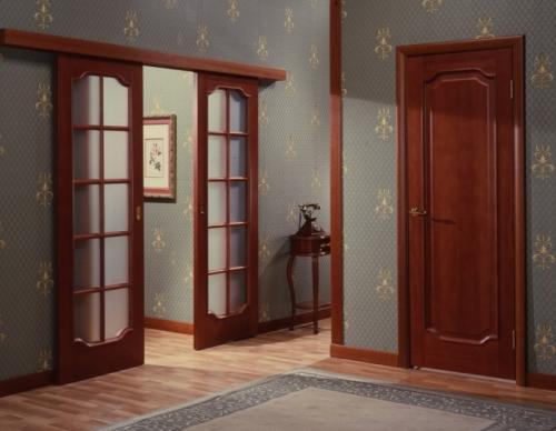 Как установить раздвижную межкомнатную дверь?