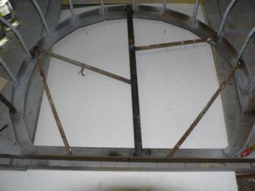 Дополнительное армирование нижней части балкона