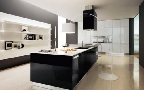 Особенности дизайна интерьера черной кухни