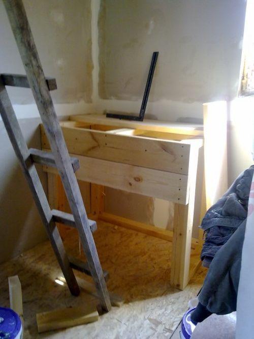 Строительство деревянной лестницы на чердак
