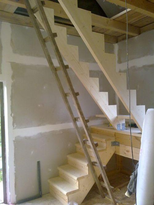 Устройство лестницы на чердак