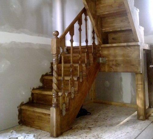 Лестница на чердак своими руками. Фото