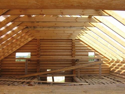 Строим мансардную крышу