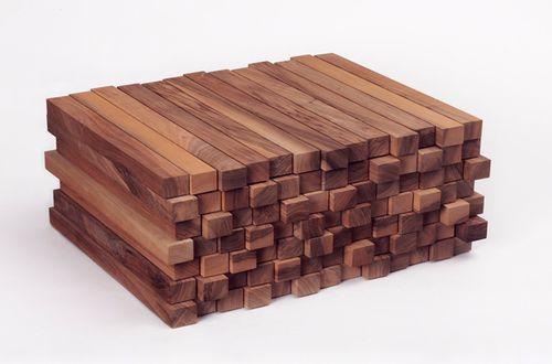 модульная мебель из брусков