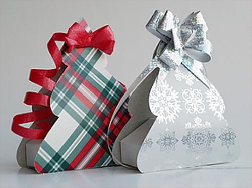 Новогодняя коробка своими руками