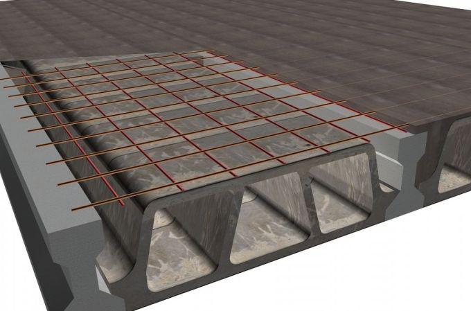 как сделать монолитную плиту перекрытия