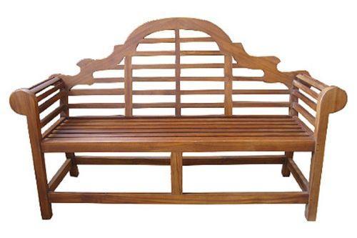 Скамейка для дачи ажурная