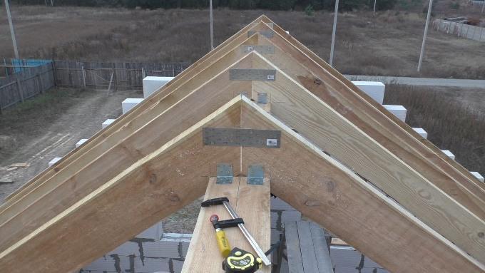 Стропила для двухскатных крыш