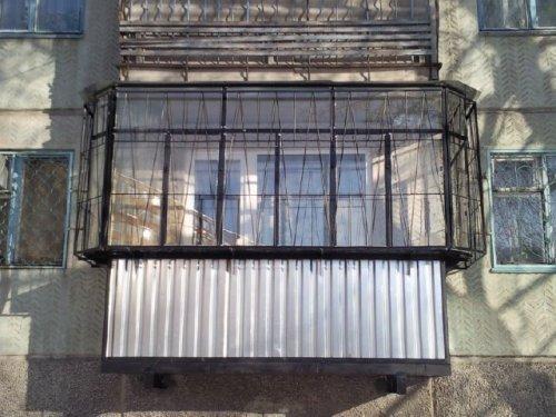 Балкон с выносом. Фото 11