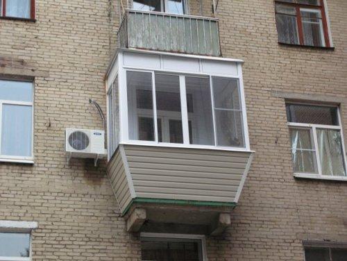 Балкон с выносом. Фото 12