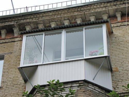 Балкон с выносом. Фото 13