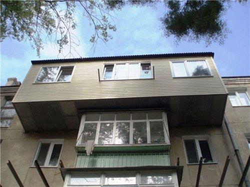 Балкон с выносом. Фото 5