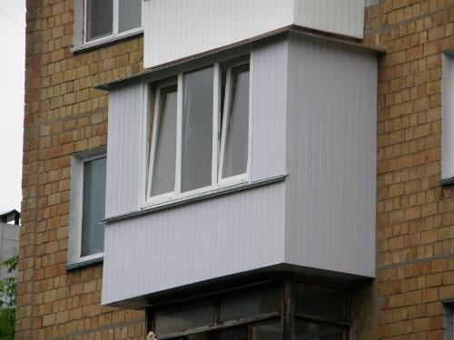 Балкон с выносом. Фото 6