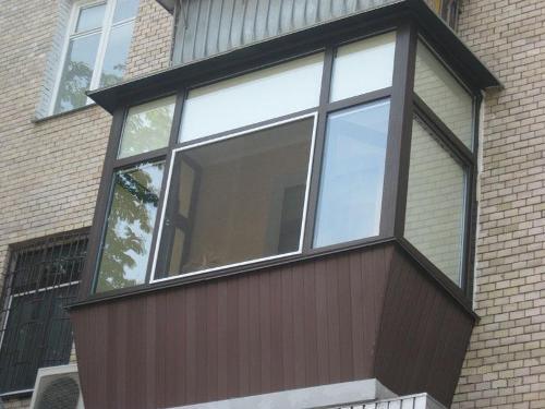 Балкон с выносом. Фото 9