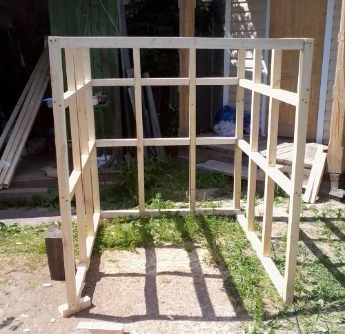 Как я строил каркасный дом своими руками фотоотчет