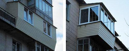 Фото пластиковых балконов 12