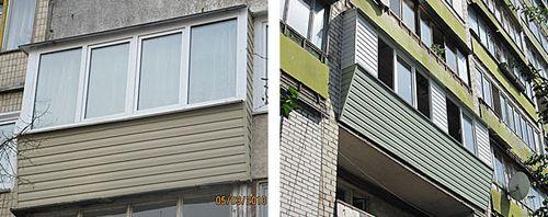 Фото пластиковых балконов 1