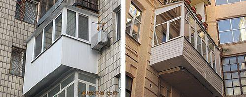 Фото пластиковых балконов 7