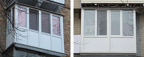 Фото пластиковых балконов.