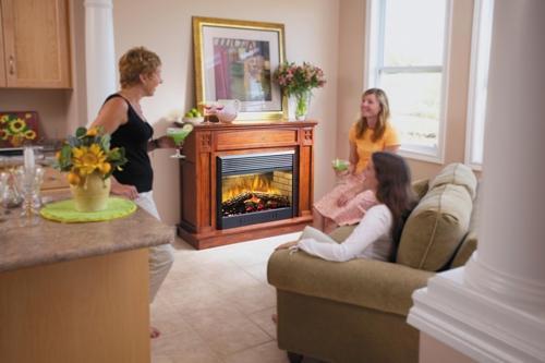 Как сделать камин в квартире?