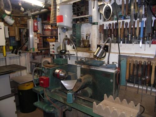 Оборудование в сарае