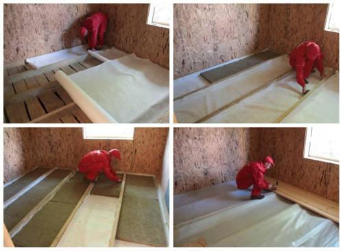 Как утеплить деревянный пол?