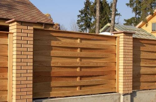 Плетеный деревянный забор. Фото 3