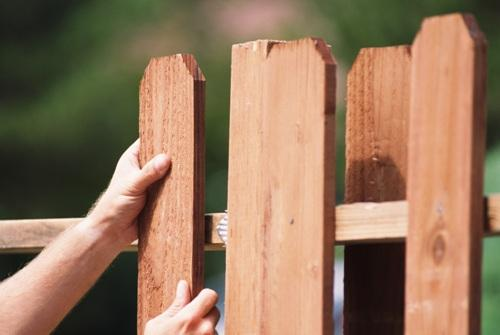 Штакетник деревянный для забора