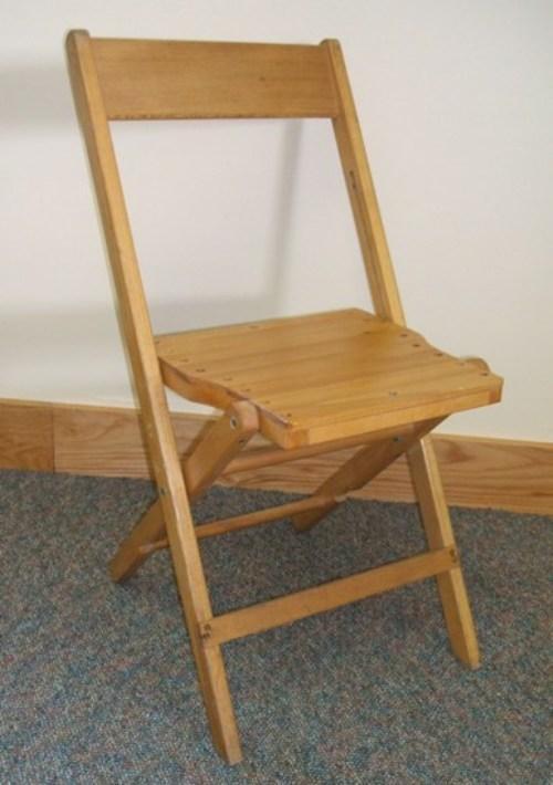Складной деревянный стул своими руками