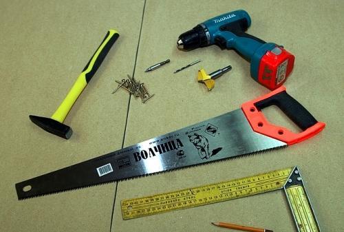 Инструмент для изготовления скворечника