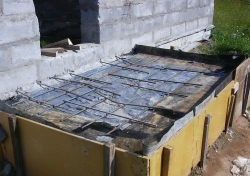 Устройство монолитной плиты перекрытия