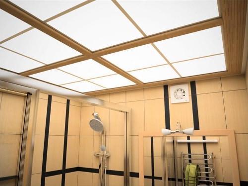 Чем отделать потолок в ванной?