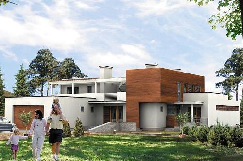 Стоит ли строить дома с плоской крышей?