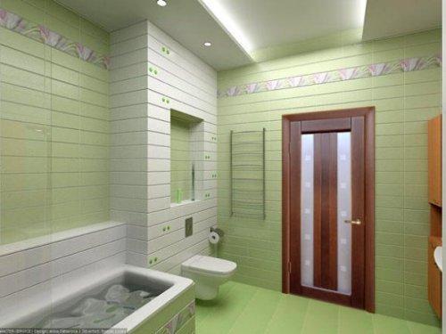 Двери в ванную комнату. Фото 7
