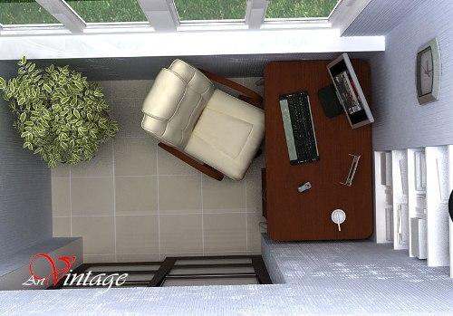 Интерьер маленького балкона. Фото 5