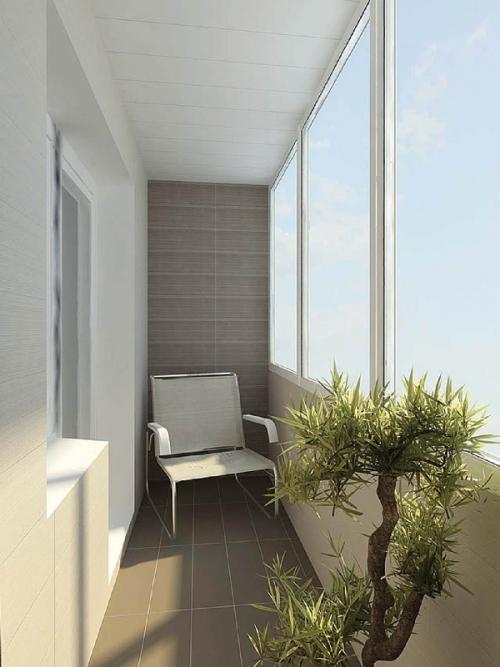Интерьер маленького балкона. Фото 9
