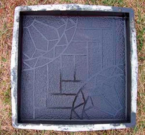 Пластиковые формы для изготовления тротуарной плитки своими руками