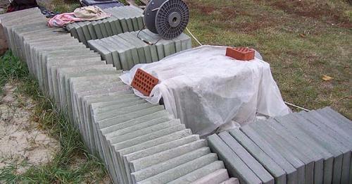 Тротуарная плитка своими руками в домашних условиях