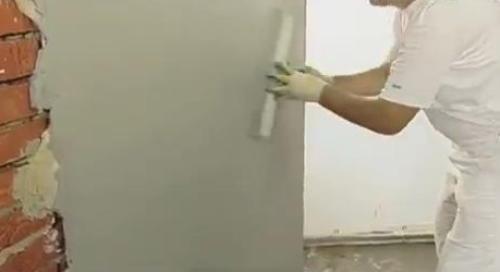Штукатурка стен. Заглаживаем штукатурку