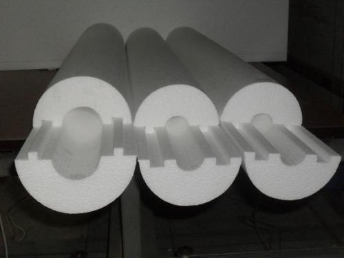 Утепление канализационных труб пенополистиролом