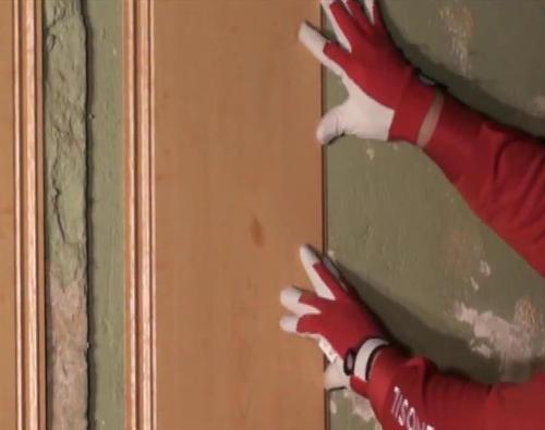 Клеим панели пвх своими руками