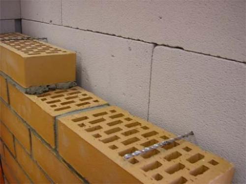 Наружная отделка дома из газобетона кирпичом