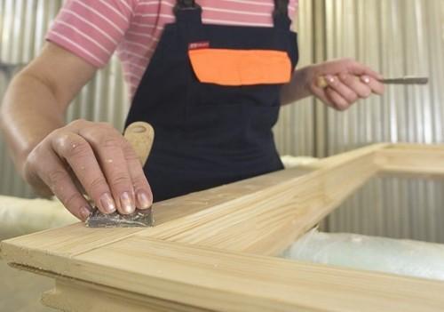 Ремонт деревянных окон со стеклопакетом своими руками 13