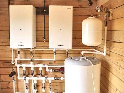 Система отопления одноэтажного дома
