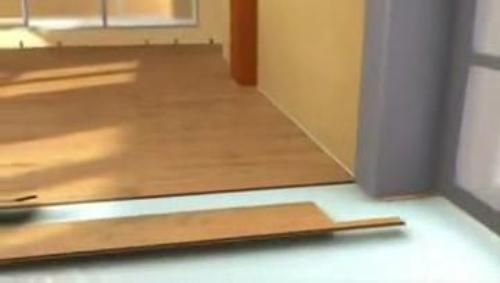 Основные правила укладки ламината в дверном проеме